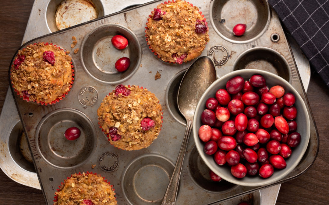 Cranberry Seed Muffins