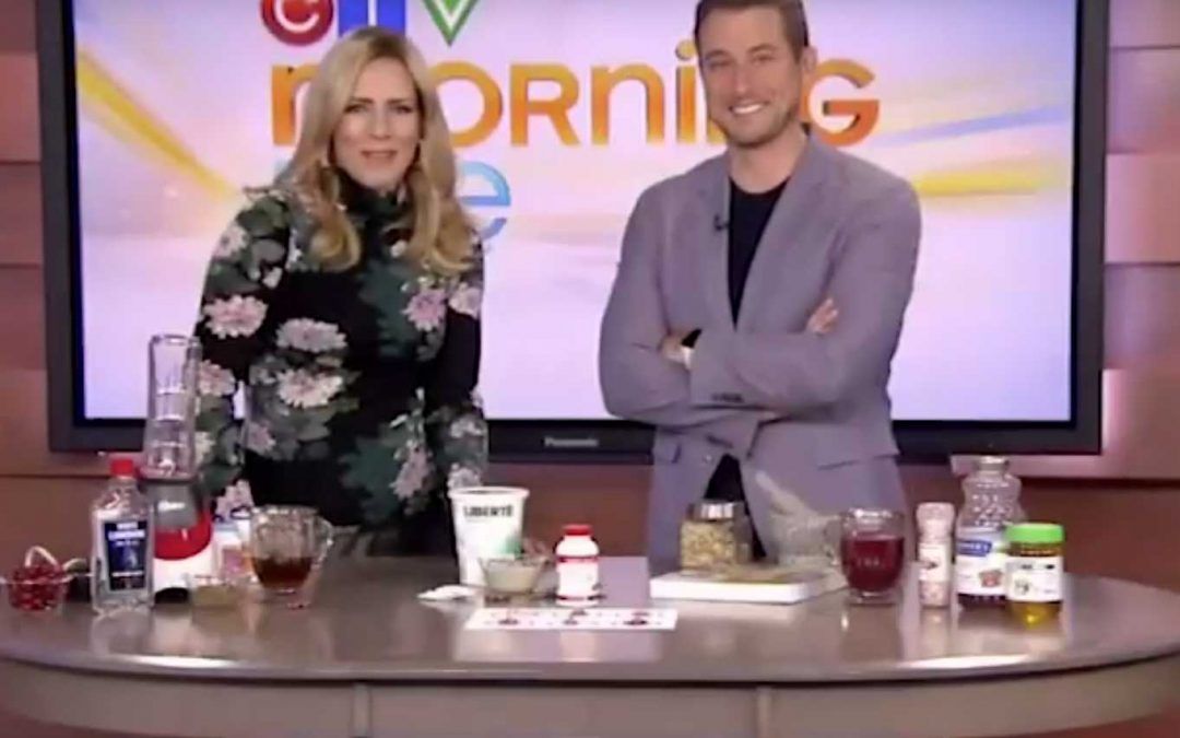 "Expert tells Canadian TV host that Cran Naturelle is ""the right stuff"""