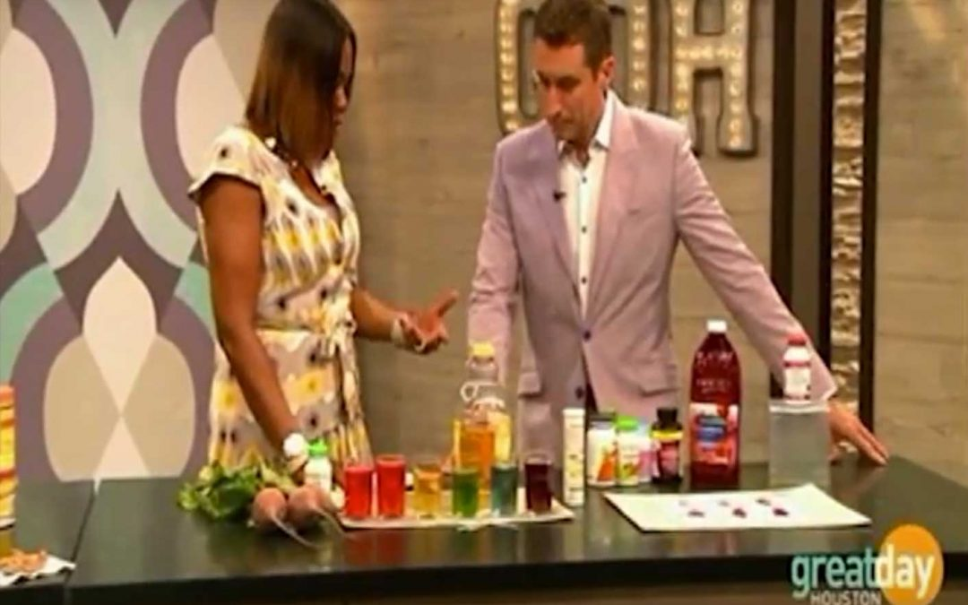 Houston viewers learn how to spot real cranberry in supplements