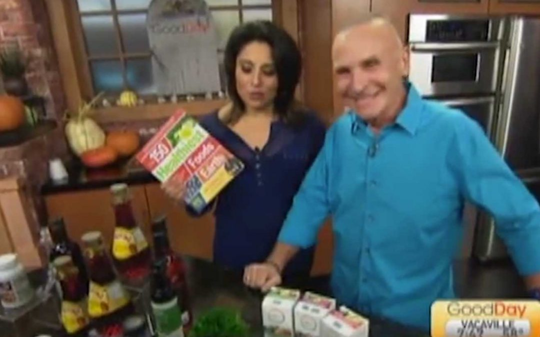 CBS TV guest praises Cran Naturelle's unique whole-fruit goodness